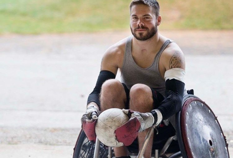 Wheelchair rugby, anyone?