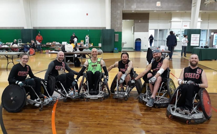 ATF Medical Supports Wheelchair Rugby Tournament